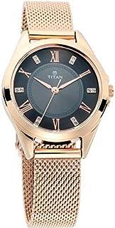Titan Sparkle Dial Analog Watch for Women - 2565WM02