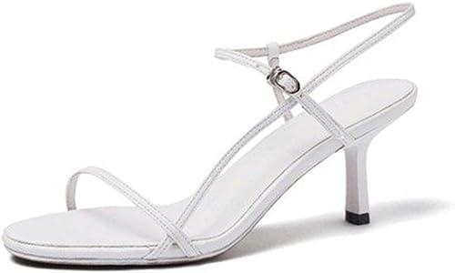 SHANG Sandalen sexy einfachen Stiletto Open Toe High Heels