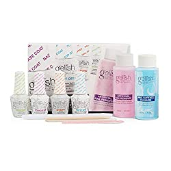 top 10 gelish nail kit Gelish Soak Manicure Care Set 15ml Basix Care (with remover and cleaning agent)