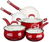 Oster 94244.08 Corbett Forged Aluminum Cookware Set with Ceramic Non-Stick - Induction Base