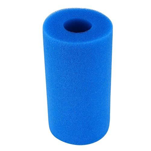 jieGorge 5PCS Washable Sponge Foam Cartridge Suitable Pool Reusable Foam Filter, Cleaning Supplies Sales (Blue)