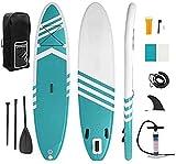 330 * 76 * 15 cm Inflable Tabla de Surf Soporte Junta...