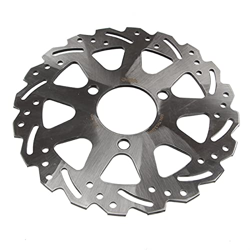 Motorcycle Universal stainless steel 3-Hole 220mm/260mm For Front Rear Brake Disc (Color : 220mm)
