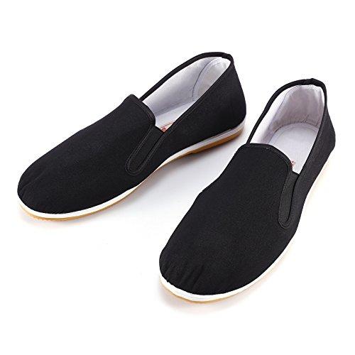 SurePromise Scarpe Kung Fu,Pantofole Kung Fu Pantofole per Tai Chi, Yoga e Kungfu/Scarpe Vecchie di Pechino di Arti Marziali del Panno UK Size 9 (43)