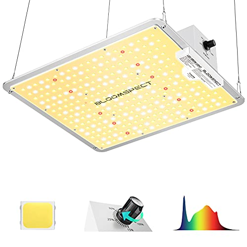 BLOOMSPECT S1000 LED Grow Light for Indoor Plants Full Spectrum with Samsung LEDs and Sosen Driver, Dimmable 1000 Watt LED Plant Growing Lamps Veg Flower for Greenhouse 2x2 ft Grow Tent