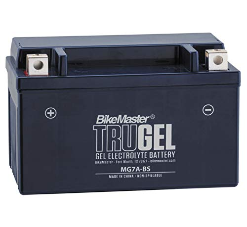 BikeMaster TruGel Battery MG7A-BS for KYMCO Super 8 150 2009-2013