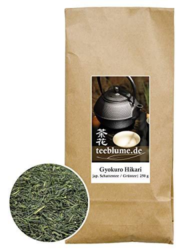 Gyokuro Hikari, thé d'ombres japonais, thé vert, 250g