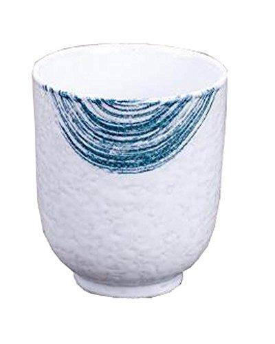 Black Temptation Juego de 2 Tazas de cerámica de Estilo japonés Taza de té Flores pintadas a Mano [H]