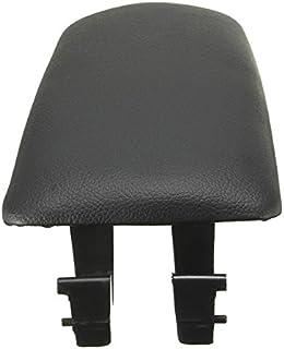 BKAUK Negro Cubierta de reposabrazos de Consola Pestillo de la Cubierta del Clip de Captura para A4 B6 02-07 E177B