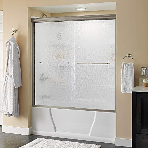 Delta Shower Doors SD3927412 Classic Semi-Frameless Traditional Sliding Bathtub, 60