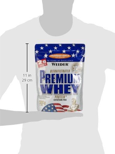 Weider Premium Whey, Strawberry – Vanille, 500 g - 3