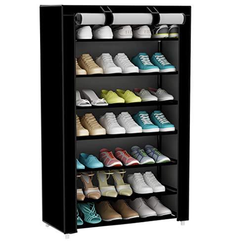 UDEAR Armario para Zapatos de Tela Shoes Rack Zapato del gabinete...