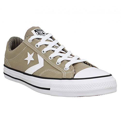 Converse Star Player Canvas Ox Zapatillas Caqui para Hombre-UK 10 / EU 44