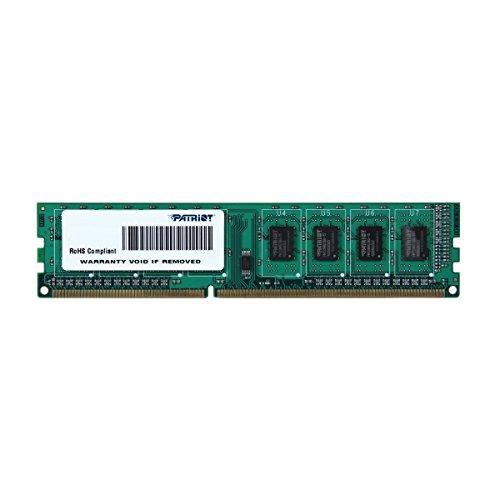 Patriot Signature Arbeitsspeicher 4GB (1333 MHz, CL9, 1 X 4GB) DDR3-RAM Module - PSD34G133381