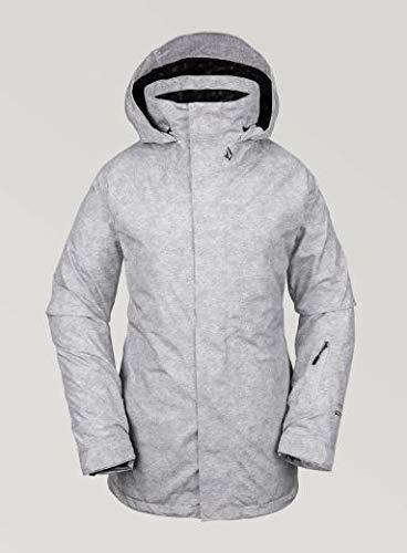 Volcom Women's Leda Gore-tex Snow Jacket, Heather Grey, Medium