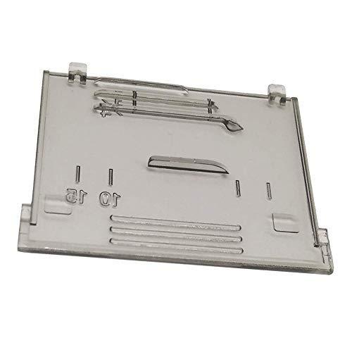 Placa deslizante para montaje de placa XF2404001 para Brother BM2800 BB370, BM2800CT, BM3550FG BM2800FG y más