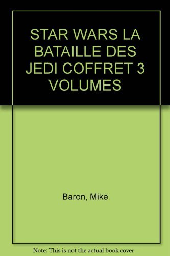 STAR WARS LA BATAILLE DES JEDI COFFRET 3 VOLUMES