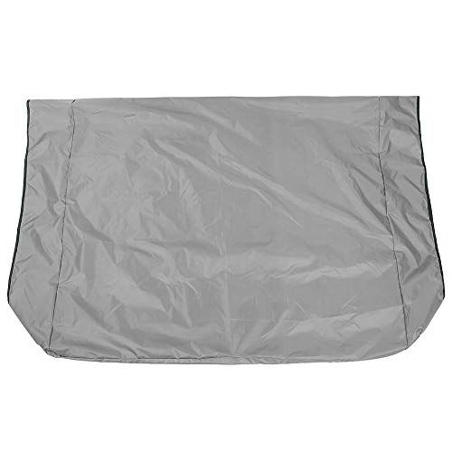Worii Reißfester, reißfester Schutz Swing Canopy, Swing Canopy Cover für Gartenrasen im Innenhof(Gray)