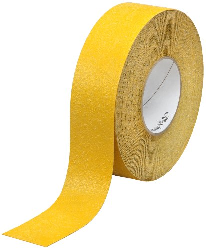 3M Safety-Walk Slip-Resistant General Purpose Tapes & Treads 630-B, Safety Yellow, 1 in x 60 ft, Roll