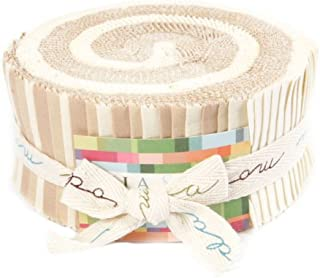 Moda Bella Solids Neutral 2-1/2'' Jelly Roll By The Each