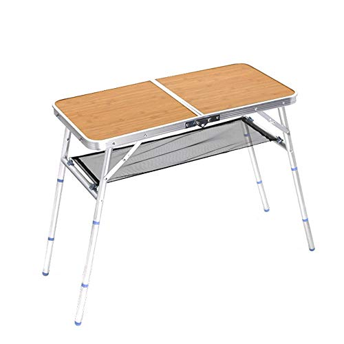 SVHK Aluminum Folding Table And Chairs Set, Portable Aluminum Alloy Folding Picnic Camping Table for Outdoor Travel Kitchen Garden