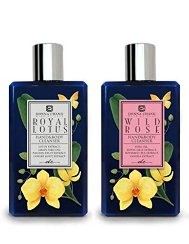 Donna Chang Royal Lotus and Wild A. Ranking TOP4 Shower Beauty products Rose - Set Gel