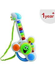 Luvlap Musical Guitar Toy with Drum and Keyboard for Baby, Multicolor