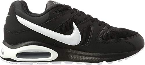 Nike Herren Air Max Command Sneaker, Schwarz (Black/White/cool Grey), 42 EU