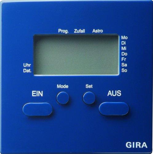 Gira 038546 Zeitschaltuhr S-Color, blau