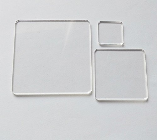way to cut plexiglasses 25PCS of Blank Clear Acrylic Square Material,Plexiglass Laser Cut Square Sheet with Round Corners, DIY Accessory 1/8