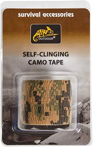Helikon-Tex Unisex-Adult Selbsthaftendes Camo Tape-USMC Digital Woodland, universal