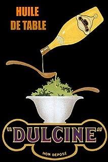 Italian Salad Food Olive Oil Dulcine Italy Kitchen or Restaurant Art 16