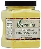 Instant Lemon Creme Pudding - 1.5 Lb Container