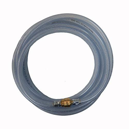 Rehau Raufilam E - Profi PVC Druckluftschlauch Gewebeschlauch Kompressorschlauch Luftschlauch inkl. Kupplungen 10mm 15 m
