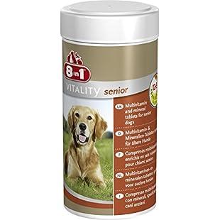 8-in-1 Multi Vitamin Tablets for Senior Dogs, 250 ml