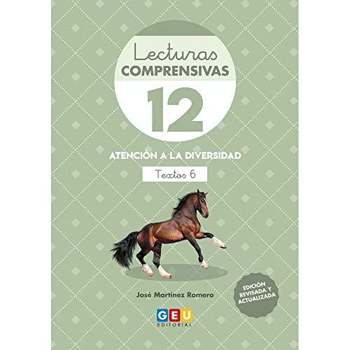 Lecturas Comprensivas 12/ Editorial Geu/ 3º primaria/ mejora la Comprensión Lectora/ Recomendado Como Apoyo/ Actividades sencillas (Niños de 8 a 9 años)