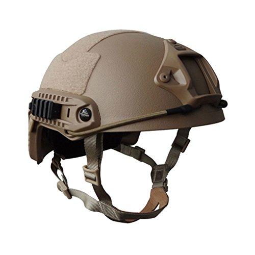KSS Fast MH Typ Schutzhelm Sturzhelm für Jagd Freizeit Militär Unisex Camouflage Outdoor Integrated Tactical Helm Verschiedene Farben