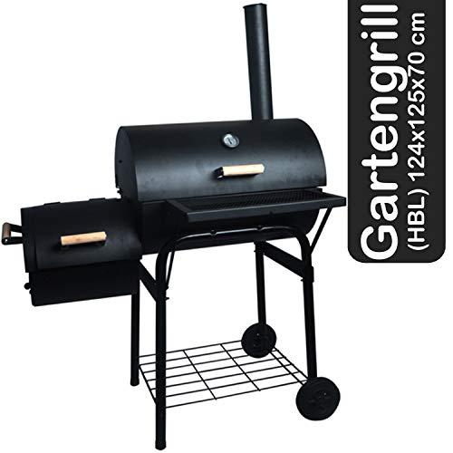 Decorwelt - Barbecue a carbonella XXL pieghevole con griglia e griglia a carbone, ideale per campeggio e giardino