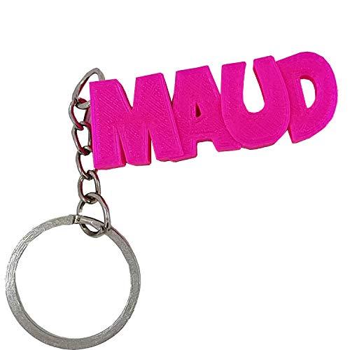Llavero en 3D con un nombre o un texto personalizado - una idea de regalo personalizable y original.