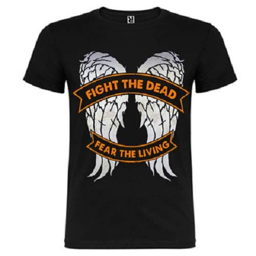 Camiseta Fight Death Fear Living - Daryl - The Walking Dead