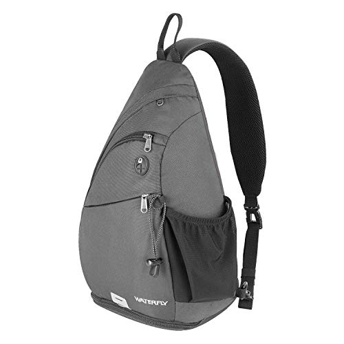 Waterfly Sling Backpack Sling Bag Crossbody Daypack Casual Backpack Chest Bag Rucksack