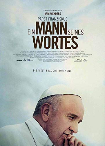 Papst Franziskus - Ein Mann seines Wortes - Filmposter A3 29x42cm gerollt