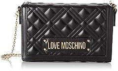 Idea Regalo - Love Moschino Jc4054pp1a, Borsa a Tracolla Donna, Nero (Nero), 5x13x20 cm (W x H x L)