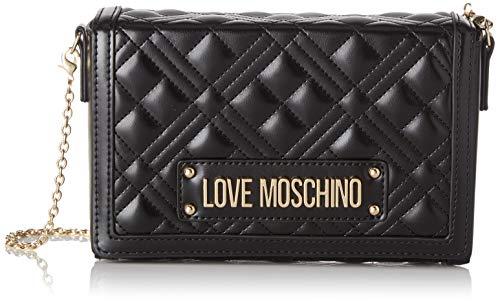 Love Moschino Jc4054pp1a, Borsa a Tracolla Donna, Nero (Nero), 5x13x20 cm (W x H x L)