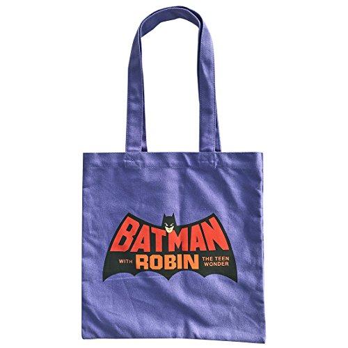 バットマン カラートートバッグ ロゴ パープル WBBT546
