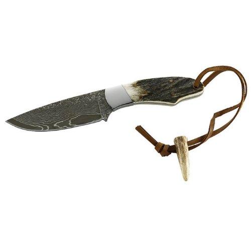 Puma Tec Couteau Damas Couteau de Ceinture, 71 Couches, Multicolore, 17,7 cm