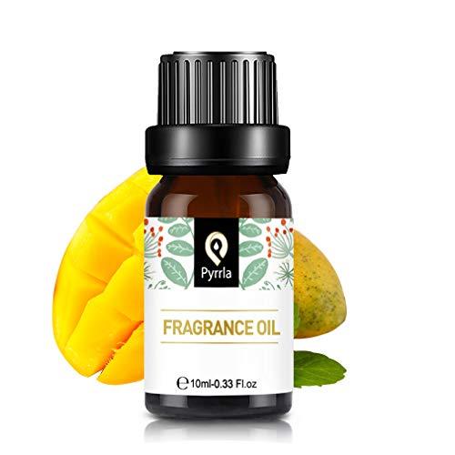 PYRRLA Fragrance Oil Diffuser Mango Duftöl, Fragrance Oil, Reine ätherische Öl, Parfüm Öl für Diffuser 10ML -Mango Duft Öl