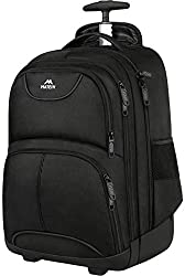 Travel bookbag and suitcase for solo travel on Amazon