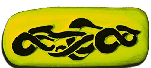 Pierre Tatouage Temporaire Ephémère Magic Tattoo Barbelé tour de Bras Cheville (pierre seule sans Encre de tatouage temporaire 20ml + encreur xxl Magic Tattoo) cm x 2,5-cm