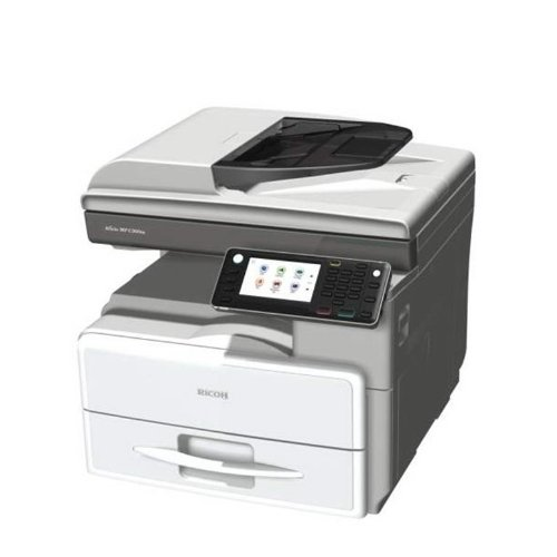 Ricoh Aficio MP 301SP Multifunktionsdrucker, Schwarz/Weiß, Laserdrucker, A4 (210 x 297 mm) (Original), A4 (Träger), bis zu 30 ppm (Kopie) bis zu 30 ppm (Druck), 350 Blatt, USB 2.0